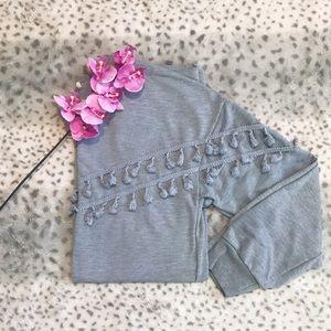 Tassel Pullover